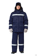Костюм рабочий мужской зимний «Валдай-Норд» цвет темно-синий