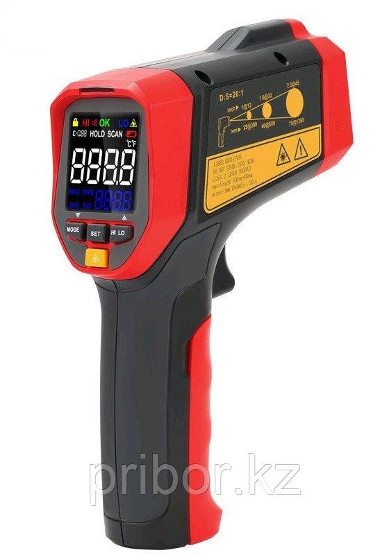 Термометр инфракрасный (пирометр)  UNI-T UT302A +(-32°С  +700°С) . Внесён в реестр РК