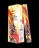 Угольные благовония сандаловые, Даршан, 20 шт