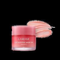 Laneige Ночная крем - маска для губ с экстрактом малины Lip Sleeping Mask / 8 гр.