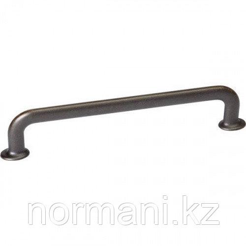 Мебельная ручка скоба 160мм U-TURN, отделка темная бронза