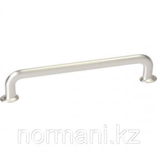 Мебельная ручка скоба 160мм U-TURN, отделка сталь шлифованная