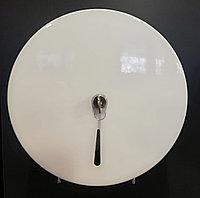 Диспенсер белый металлический для туалетной бумаги, Турция