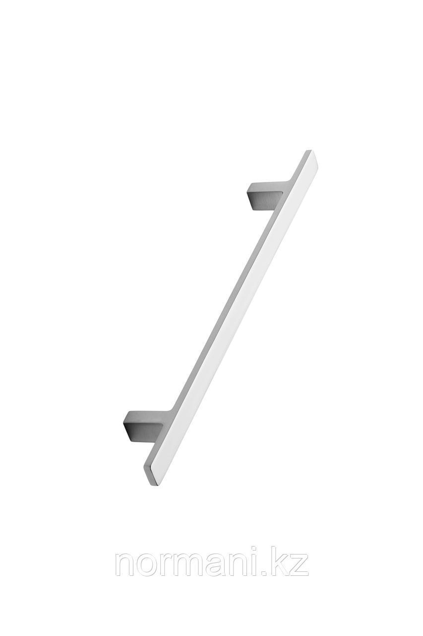 Мебельная ручка скоба 160мм TRANSIT, отделка сталь шлифованная