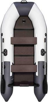 Надувная лодка Таймень NX 2850 серый