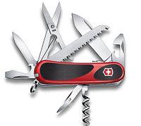 Нож VICTORINOX Мод. Evolution Security EvoGrip 17 (85мм) - 17 функций, красно-черный R 18163