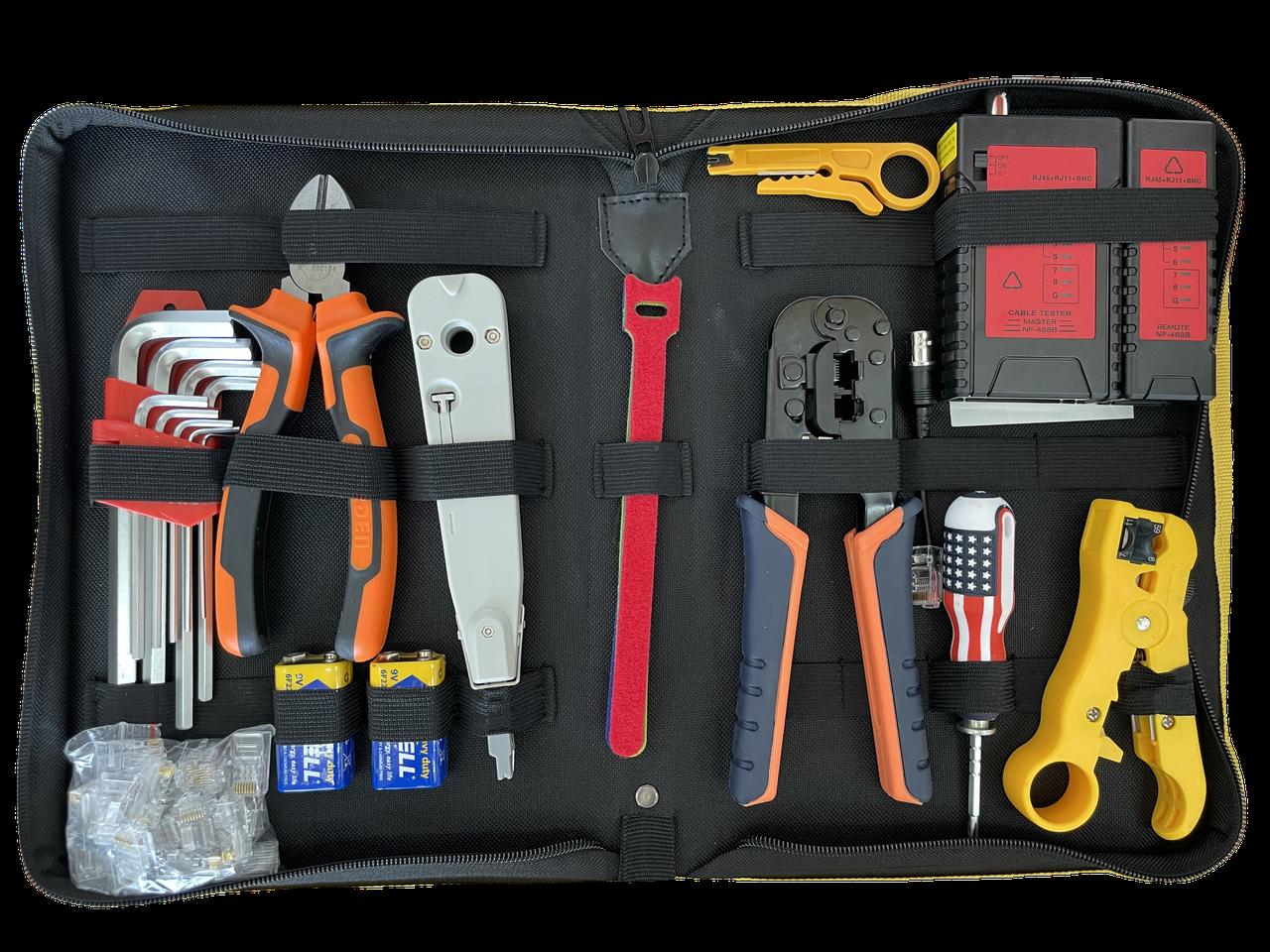 Набор инструментов для сетевых работ  PRO11