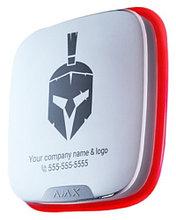 Ajax StreetSiren DoubleDeck - Беспроводная уличная сирена с креплением для брендированной лицевой панели.