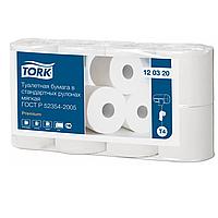 Туалетная бумага Tork в стандартных рулонах мягкая