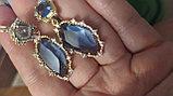 """Комплект украшений  """"Небесный свет"""" кольцо+кулон+серьги+браслет, фото 8"""