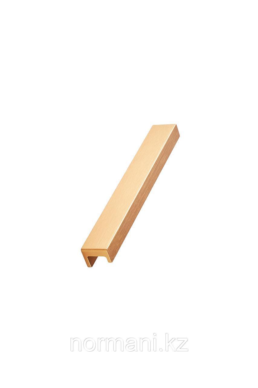 Мебельная ручка STATION L.190мм, отделка золото шлифованное
