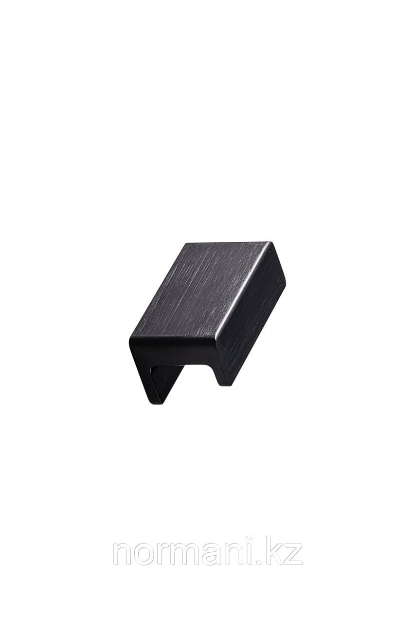 Мебельная ручка STATION L.45мм, отделка черный шлифованный