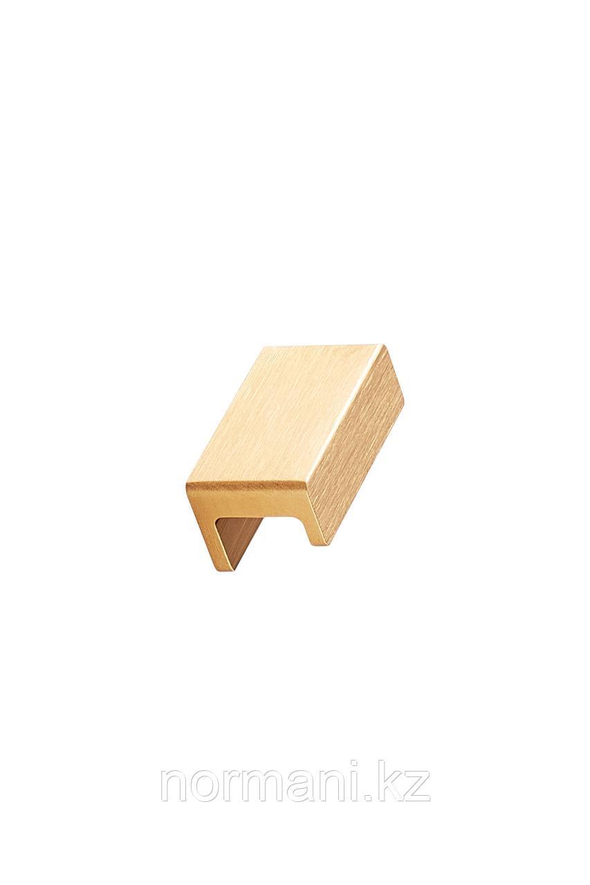 Мебельная ручка STATION L.45мм, отделка золото шлифованное
