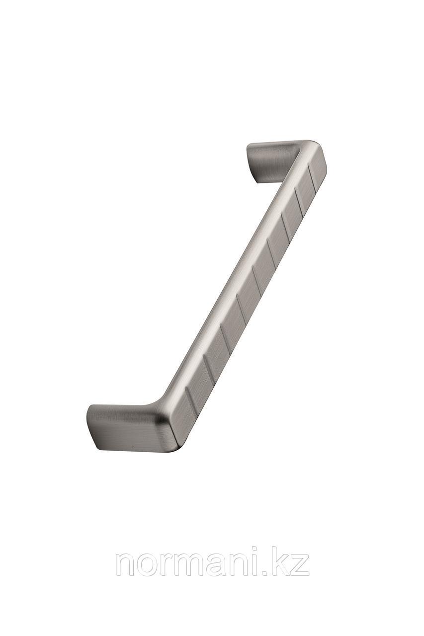 Мебельная ручка скоба 160мм SIDEWALK, отделка сталь шлифованная