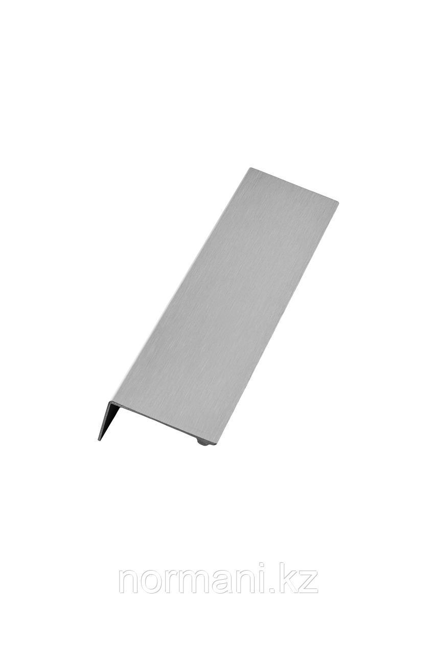 Мебельная ручка накладная SHEET L.200мм, отделка сталь шлифованная