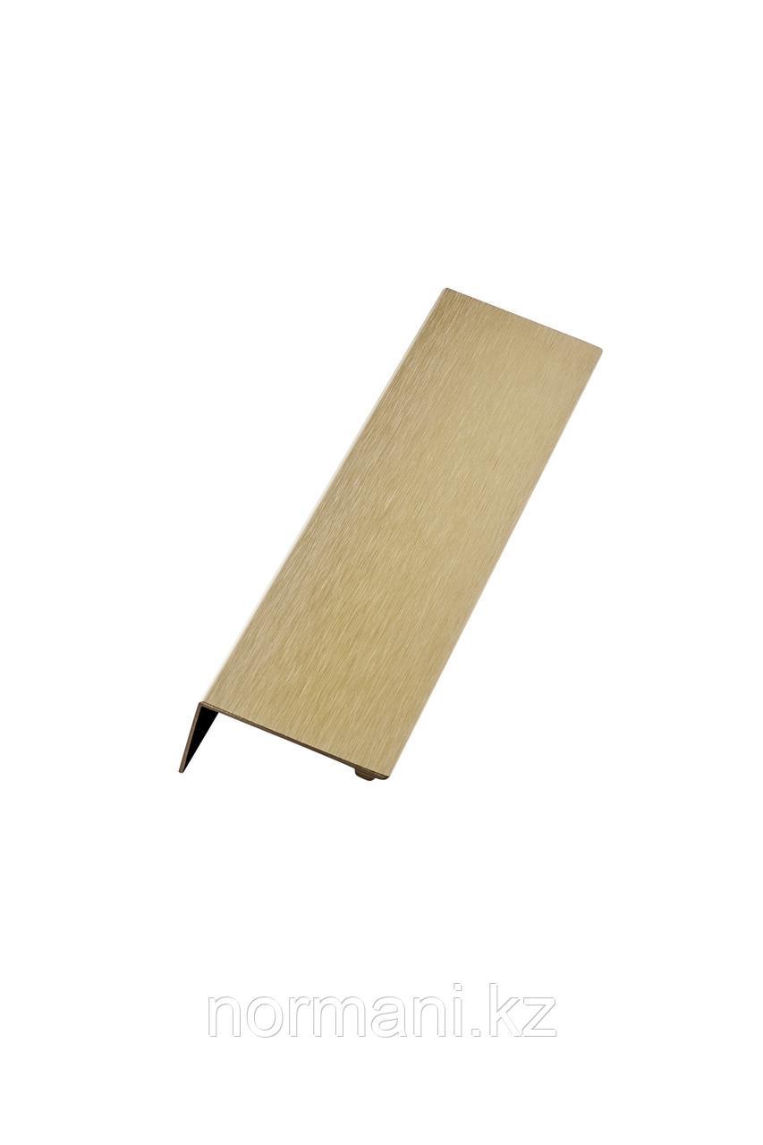 Мебельная ручка накладная SHEET L.200мм, отделка золото шлифованное