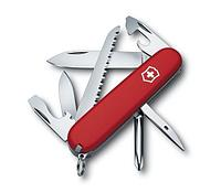 Нож VICTORINOX Мод. HIKER (91мм) - 13 функций,  красный R 18119
