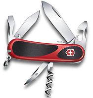 Нож VICTORINOX Мод. Evolution EvoGrip S101 (85мм) - 13 функций,  красно-черный R 18932