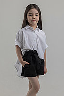 Комплект Хулиганка Блузка с шортами. ПОХУЛИГАНЬТЕ С СТИЛЕМ! СВОБОДНАЯ И ЯРКАЯ МОДЕЛЬ ДЛЯ ВАШЕЙ ДЕВОЧКИ!