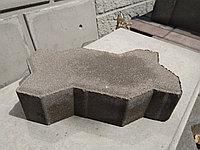 """Брусчатка и тротуарная плитка """"Волна"""" вибро-прессованная СЕРАЯ, толщина 6 см, фото 1"""