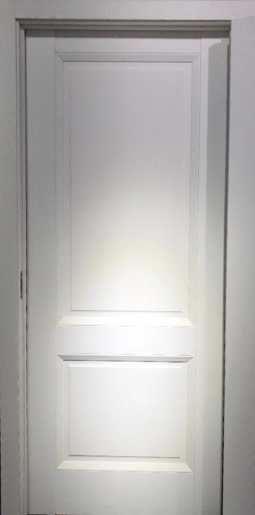 Межкомнатная дверь ДЛ 700 - Белый Ясень