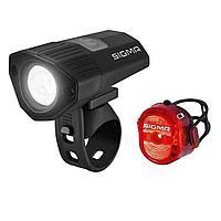 Sigma комплект фонарей Buster 100 HL / Nugget II Flash usb k-se