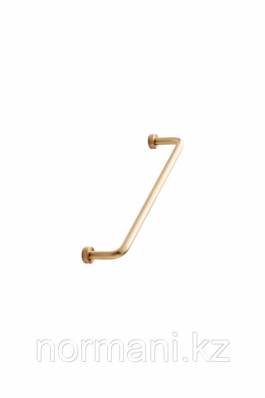 Мебельная ручка скоба 160мм LOUNGE, отделка золото матовое