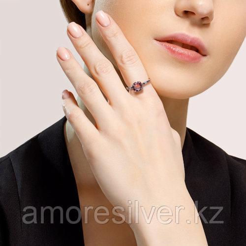 Кольцо SOKOLOV серебро с родием, ситал синт. фианит , многокаменка 92011717 размеры - 18,5 - фото 7