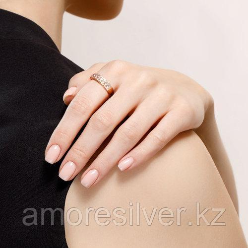 Кольцо SOKOLOV серебро с позолотой, фианит , дорожка 93010402 размеры - 16 16,5 17 17,5 18 18,5 19 19,5 - фото 4