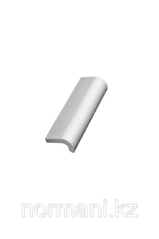 Мебельная ручка INVERT L.120мм, отделка сталь шлифованная