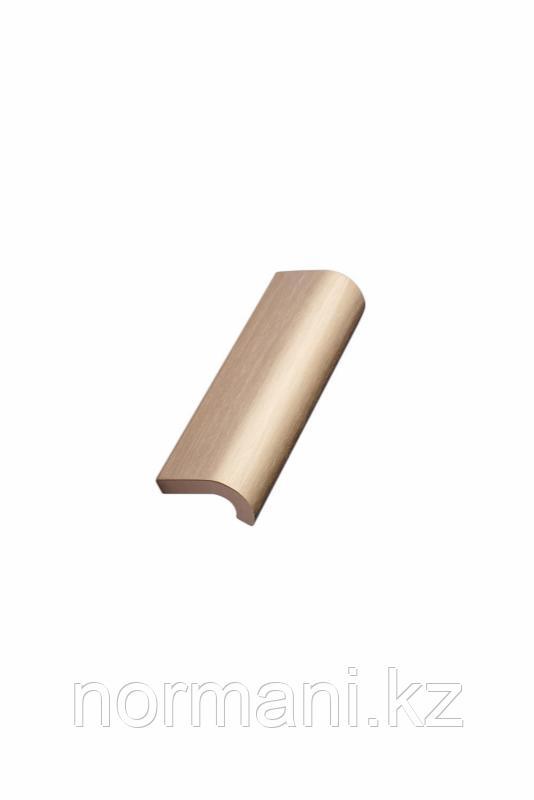 Мебельная ручка INVERT L.120мм, отделка золото шлифованное