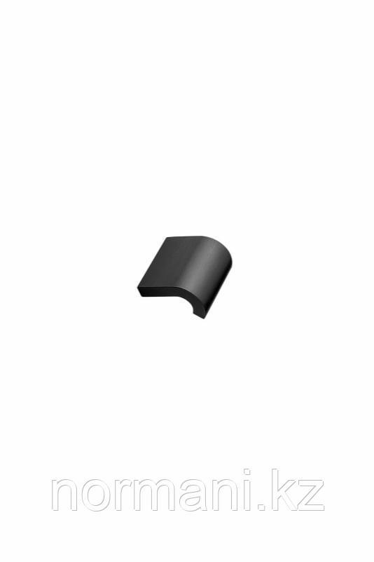 Мебельная ручка INVERT L.40мм, отделка черный шлифованный