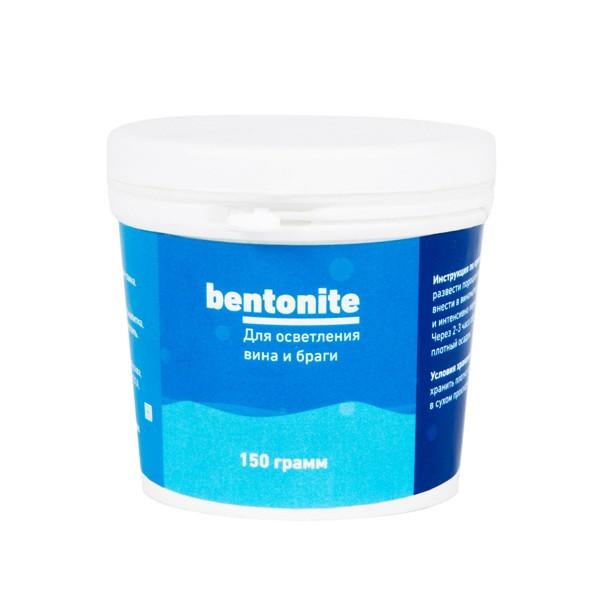 Бентонит для осветления 30-50 л браги (банка ПЭТ), 150 гр