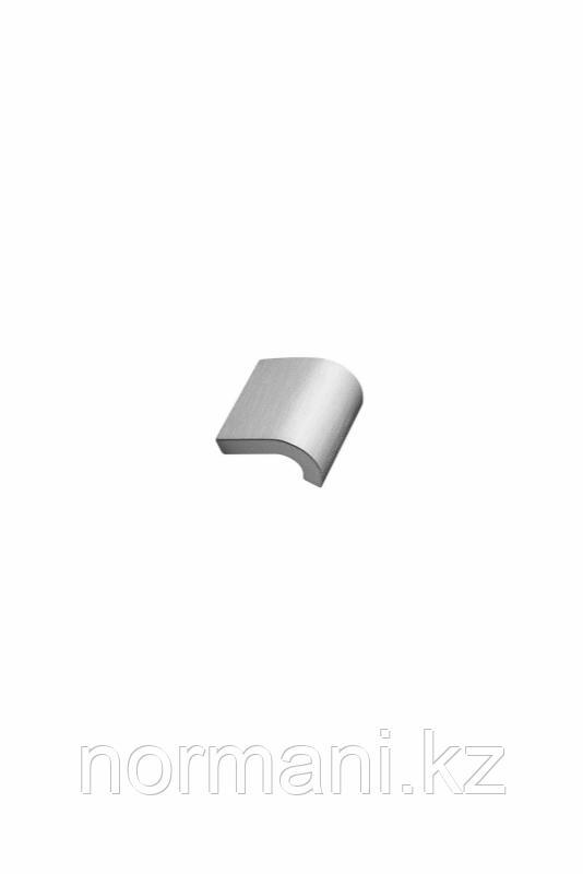 Мебельная ручка INVERT L.40мм, отделка сталь шлифованная