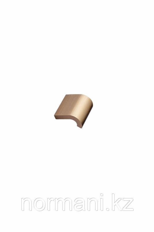 Мебельная ручка INVERT L.40мм, отделка золото шлифованное