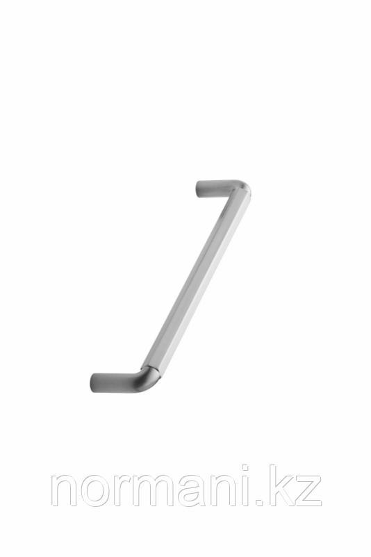 Мебельная ручка скоба 160мм HEXA, отделка сталь шлифованная