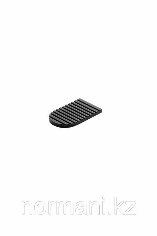 Накладка на фасад для PUSH HABIT 50*30мм, отделка черный матовый