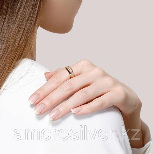 Обручальное Кольцо SOKOLOV серебро с позолотой, без вставок 93110016 размеры - 17 17,5 18 18,5 19 20 20,5 - фото 4