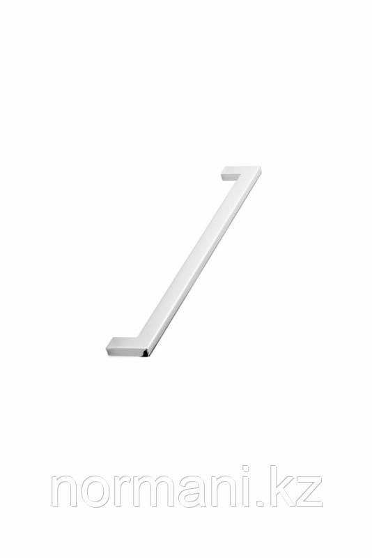 Мебельная ручка скоба 256мм FLAT, отделка хром глянец