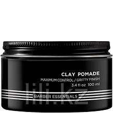 Помада-глина для естественных матовых укладок, для мужчин Redken Brews Clay Pomade 100 мл.