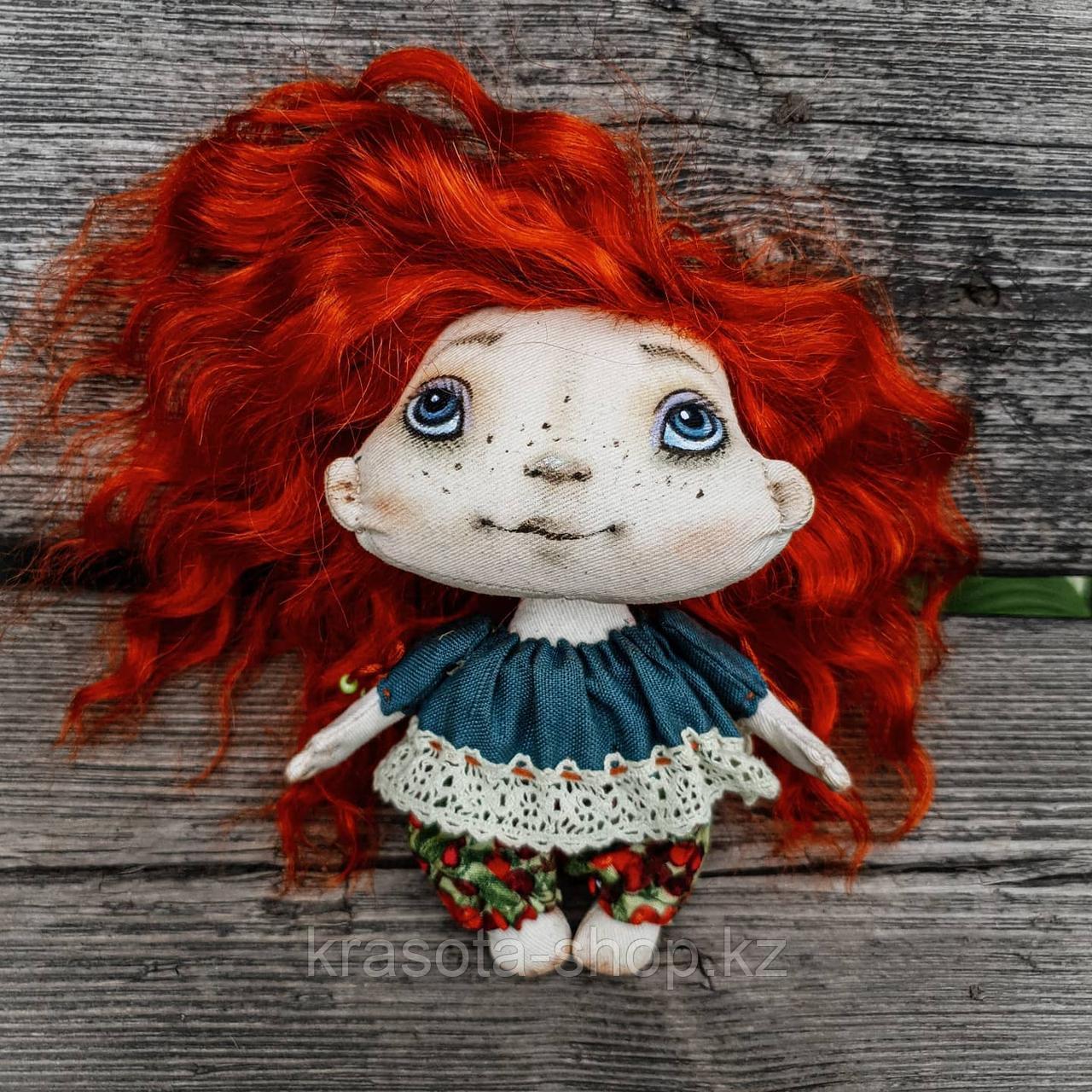 Авторская  тектильная кукла