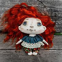 Авторская  тектильная кукла, фото 1