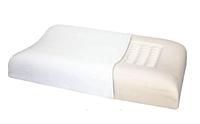 Подушка ортопедическая ТРИВЕС Т.142 (ТОП-142) с эффектом памяти под голову