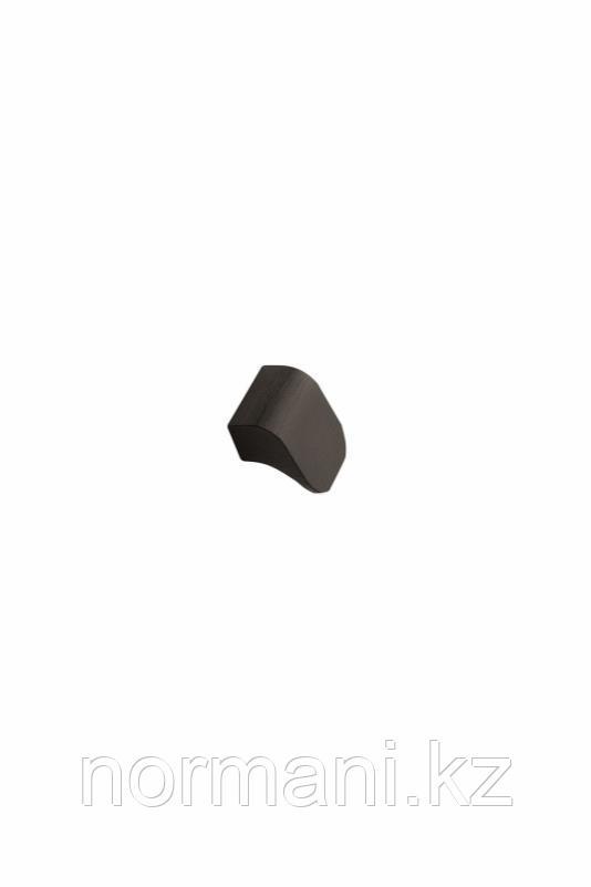 Мебельная ручка FALL L.28мм, отделка черный шлифованный