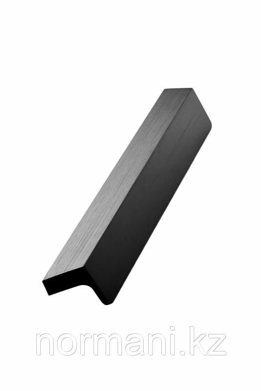 Мебельная ручка ENVELOPE L.200мм, отделка черный шлифованный