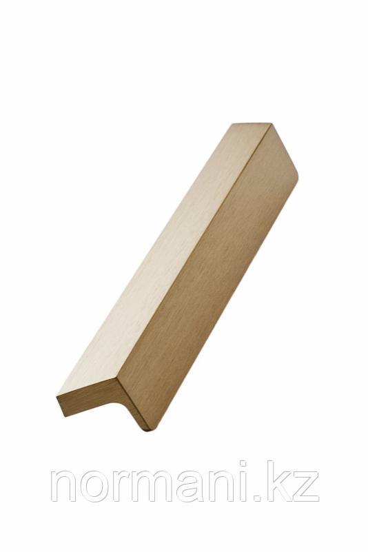 Мебельная ручка ENVELOPE L.200мм, отделка золото шлифованное