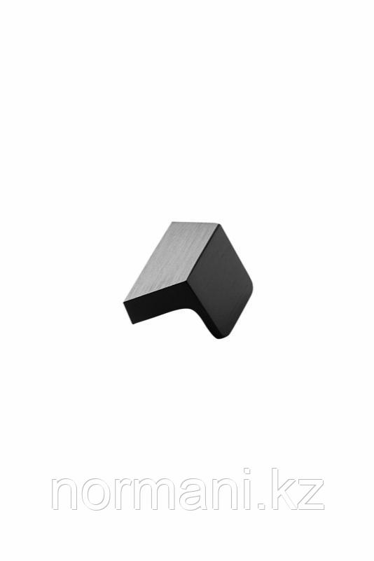 Мебельная ручка ENVELOPE L.50мм, отделка черный шлифованный