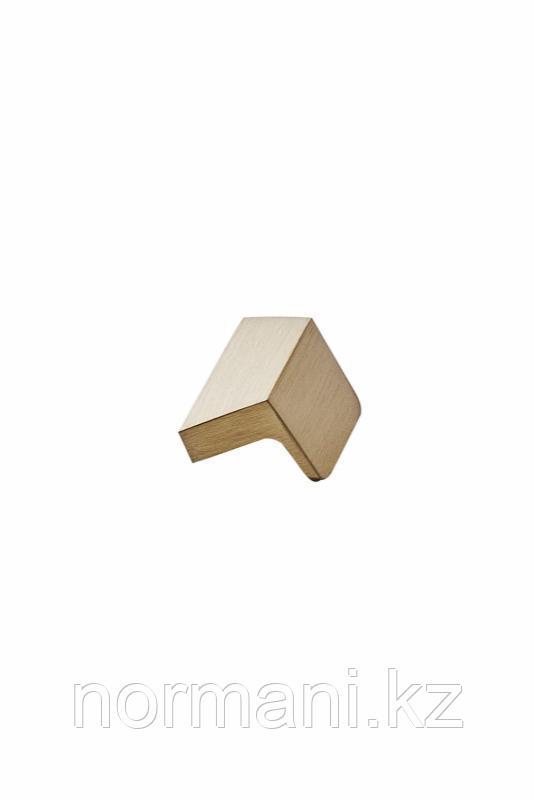 Мебельная ручка ENVELOPE L.50мм, отделка золото шлифованное