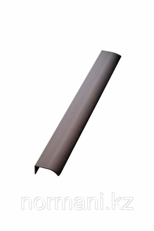 Мебельная ручка накладная EDGE STRAIGHT L.350мм, отделка бронза темная