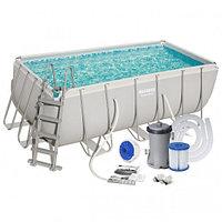 Каркасный бассейн BestWay, 412х201х122см.
